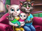 Talking Angela ve Tom Ailesi